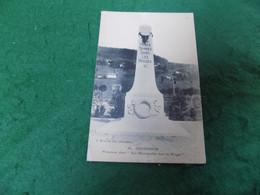 MILITARY WWI Guerre 1914-1918: GERARDMER Monument Aux Heroes Tombes Dans Les Vosages B&w 1919 Deley - War 1914-18