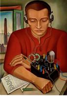 München Lenbachhaus - Radio-Aktivität 18. Feb. - 23. Aug. 2020 - Der Radiohörer 1930 Von Max Radler - Muenchen