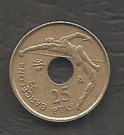 Spagna - Moneta Circolata Da 25 Pesetas Km851 - 1991 - 25 Pesetas