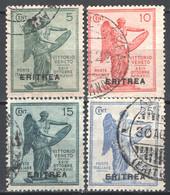 Eritrea 1922 Sass.50/53 O/Used VF/F - Eritrea