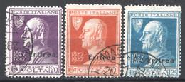 Eritrea 1927 Sass.120/22 O/Used VF/F - Eritrea