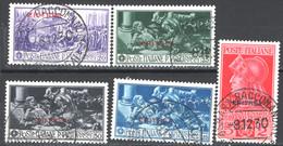 Eritrea 1930 Sass.165/69 O/Used VF/F - Eritrea