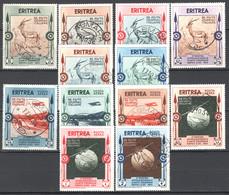 Eritrea 1934 Sass.220/25+A O/Used VF/F - Eritrea