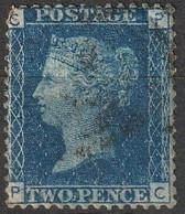 Grande Bretagne 1858-1864 N° 27 Queen Victoria Planche 13 (H5) - Usati