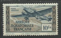 AFRIQUE EQUATORIALE FRANCAISE - AEF - A.E.F. - 1944 - YT PA 38** - Unused Stamps