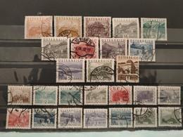 AUTRICHE -  1929/1932 - N° 378/388 O + Série Complète N° 405/418 O (voir Scan) - Usati