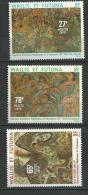 "Wallis YT 245 à 247 "" Tableaux "" 1979 Neuf** - Unused Stamps"