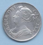 ROYAUME-UNI 1 Shilling Anne 1709  ARGENT TTB - H. 1 Shilling