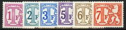 TX 66P5/71P5 - Strafportzegels - POLYVALENT Papier - 6w. - Postzegels