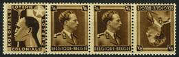 België PUc96 A ** Leopold III (open Kraag) Léopold III (col Ouvert) Kol. Lot. - Reclame