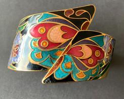 Mooie Goudkleurige Armband Met Email - Small - Bracelets
