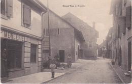 Grand-Rue à Noville / Carte Animée / TTB / 1912 - VD Vaud