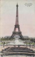 Paris -  La Tour Eiffel Prise Du Trocadéro - Eiffelturm