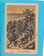 LUI.... ET SON ETAT-MAJOR PEINTRE OFFICIEL - Guerre 1914-18