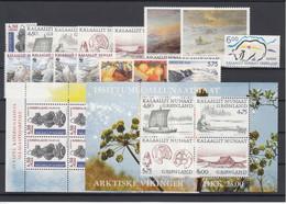 Greenland 1999 - Full Year MNH ** - Komplette Jahrgänge