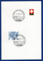 K-Stempel Waldenburg Auf PTT-Bögli (aa6017) - Postmark Collection