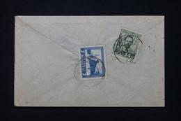 U.R.S.S. - Enveloppe Voyagé En 1925, Affranchissement Au Verso, à étudier - L 91791 - Covers & Documents