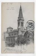 (RECTO / VERSO) LYON EN 1904 - N° 171 - EGLISE DE SERIN - BEAU CACHET ET TIMBRE - CPA PRECURSEUR - Other