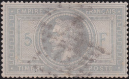 France   .    Yvert    .   33  (2 Scans)     .    O     .    Oblitéré    .   /   .    Cancelled - 1863-1870 Napoleon III With Laurels