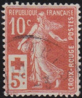 France   .    Yvert    .   147     .      O     .    Oblitéré    .   /   .    Cancelled - Gebruikt