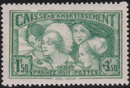 France   .    Yvert    .   269   (2 Scans)    .  *  .    Neuf Avec Gomme  Et Charnière   .   /   .     Mint-hinged - Unused Stamps