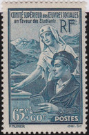 France   .    Yvert    .   417     .    *  .    Neuf Avec Gomme  Et Charnière   .   /   .     Mint-hinged - Unused Stamps