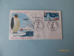 Enveloppe  1 Er Jour  Expéditions Polaires Françaises - Commemorative Postmarks