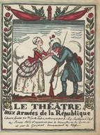 PROGRAMME DU THÉATRE AUX ARMÉES DE LA RÉPUBLIQUE 1917 - Programma's