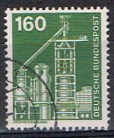 ALL-221 - RFA  ALLEMAGNE FEDERALE N° 706 Obl. Hochofenanlage - Gebraucht