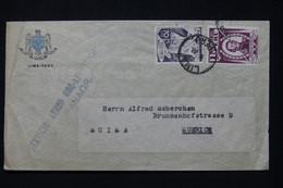 PEROU - Enveloppe De Lima  Pour La Suisse Par Avion - L 91804 - Perú