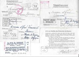 Correspondance Prisonnier Guerre 40-45 Stalag X A  (Belgique Liège Rocourt ) - Unclassified