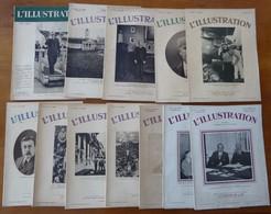 Lot De 12 Magazines L'ILLUSTRATION Des Années 1930 - Other