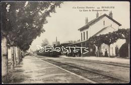 """RARETÉ.   """"La Corrèze Illustrée"""". _44. BEAULIEU  La Gare De Bretenoux - Biars - Otros Municipios"""