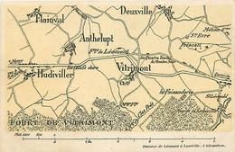 54  VITRIMONT - Distance De Léomont à Lunéville . 4 Kilomètres - Other Municipalities