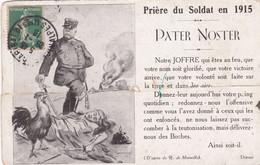 Prière Du Soldat En 1915 - Pater Noster - War 1914-18