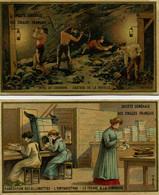 CHROMO - Société Générale Des Cigares Français - Fabrication Des Allumettes - Mine De Charbon. - Other