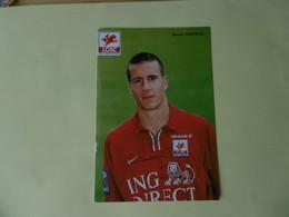 Football - Autographe - Carte Signée Benoit Cheyrou - Autografi