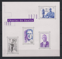 France - 2020 - N°Yv. F5446 - Bloc De Gaulle - Neuf Luxe ** / MNH / Postfrisch - Nuovi