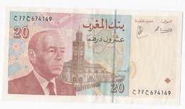 Maroc 20 Dirhams 1996 Hassan II En TTB - Morocco