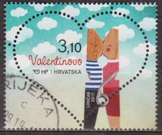 Coeur - CROATIE - Saint Valentin - N° 1166 - 2017 - Croatie