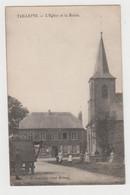 H516 - TAILLETTE - L'Eglise Et La Mairie - G.Couaillier - Circulée 1913 - Altri Comuni