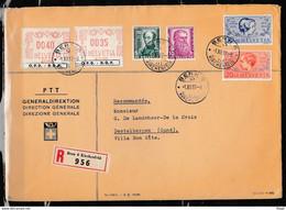 Recommandée Brief Van Bern 6 Naar Destelbergen (Belgie) - Covers & Documents