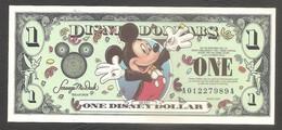 Disney - Banconota Non Circolata FdS Da 1 Disney Dollar DIS065 - 2000 - Unclassified