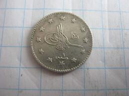 Turkey Ottoman Empire 1 Kurus 1327 ( 1909 ) 1 - Turchia