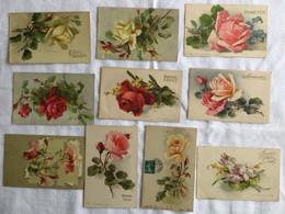 Lot De 10 Cartes -Klein -Fleurs -491-500 - Sin Clasificación