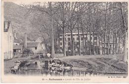 AUBUSSON Lavoir De L'ile De Juillet - Aubusson