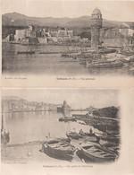 Pyrénées Orientales : Collioure : Lot De 2 Cartes - Collioure