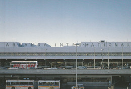 Stockholm, Arlanda Airport, International; Bus, Autobus, Volvo, Neoplan - Sweden
