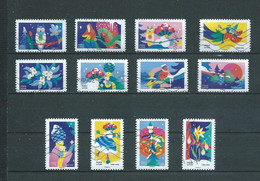 New Série Complète 12 TIMBRES 2020 NOEL SPECTACULAIRE - Used Stamps