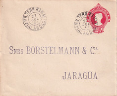 BRESIL  ENTIER POSTAL/GANZSACHE/POSTAL STATIONARY LETTRE - Enteros Postales